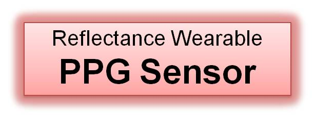 Reflectance Wearable PPG Sensor