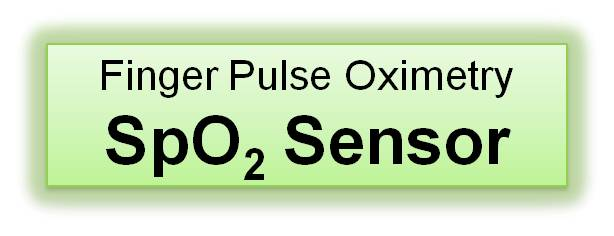 Pulse Oximetry SpO2 Transmittance Finger Sensor